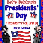 Presidents' Day Unit {Mini Book} {Literacy Centers} {and M