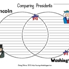 President's Day: Venn Diagram (Washington and Lincoln)