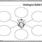 President's Day - Washington Writing Maps (FREEBIE)