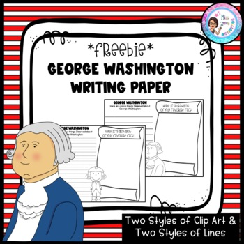 Presidents Day - Washington Writing Sheet