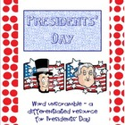 Presidents' Day Word Unscramble