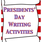 Presidents&#039; Day Writing Activities/Printables