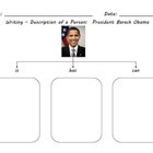 Presidents Day - Writing Tree Map