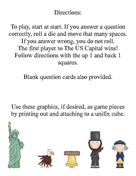 Presidents' Day and US Symbol Game