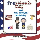 President's Day and U.S. Symbols Fun!  {Printables and Act