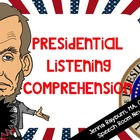 Presidents: Listening Comprehension Activity