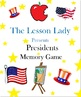 Presidents Memory Game - Use for President's Day or Year Round!