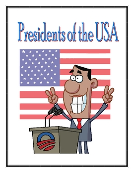 Presidents of the U.S. - Information and Coloring Book for