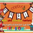 Presto! Magic Kindergarten Math and Literacy Centers