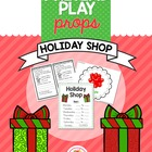 Pretend Play Props- Holiday Shop