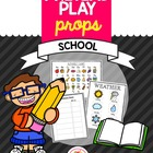 Pretend Play Props- School
