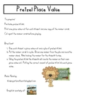 Pretzel Place Value