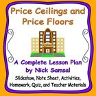 Price Ceilings and Price Floors - Activities and Lesson Plan