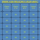 Pride and Prejudice by Jane Austen Jeopardy PowerPoint Game