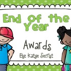 Primary Grades Classroom Awards