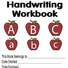 Primary Handwriting Workbook 26 pages