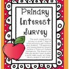 Primary Interest Survey