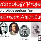 Primary Internet Research/Technology Project -  Amazing Americans