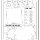 Primary Journaling Worksheet