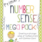 Primary Number Sense Mega Pack