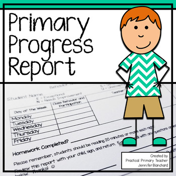 Primary Progress Report