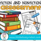 Primary School Library Fiction Nonfiction Assessment Printable