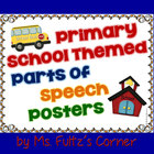 Primary School Parts of Speech Posters