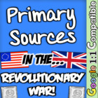 Primary Sources in the American Revolution - A Perfect Com