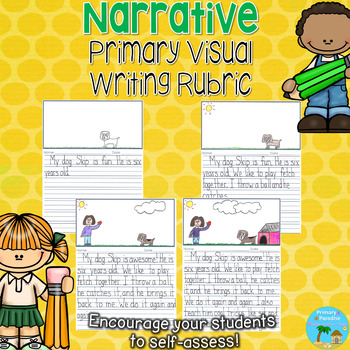 Primary Visual Writing Rubric