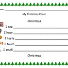 Primary Writing Activity:  A Christmas Poem