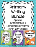 Common Core Writing Bundle ~ Informative, Narrative, & Opi