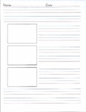 Primary Writing Template #2