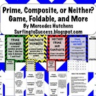 Prime, Composite, Neither? Game, Foldable, and More