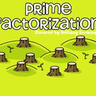 Prime Factorization Flipchart : FREEBIE