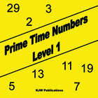 Prime Time Numbers - Level 1  - Hard Copy - 1st  Grade Mat