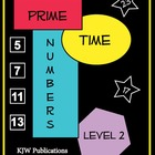 Prime Time Numbers - Level 2  -  pages 1 - 20  Free