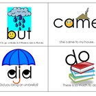 Primer Sight Word Cards with Pictures