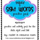 Primer Sight Word Pack - with Power Point Practice Game!