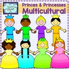 Princes and princesses clipart