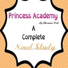 Princess Academy A Novel Study for the Classroom