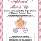 Princess Alphabet Match Up Game