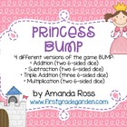 Princess BUMP Math Game {Addition & Subtraction}