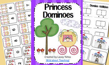 Princess Dominoes-Number Recognition and Addition
