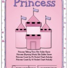 Princess File Folder Games & Activities