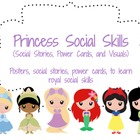 Princess Social Skills (Social Stories, Power Cards, Visua