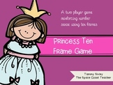 Princess Ten Frame Game
