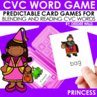 Princesses CVC Memory Match and Kissed! Game