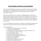 Principles of the Constitution Choice Activity Pack