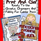 Print & Go! Ready To Use Graphic Organizers & Folding Books