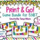 Print and Go Math Centers for Numbers & Operations in Base
